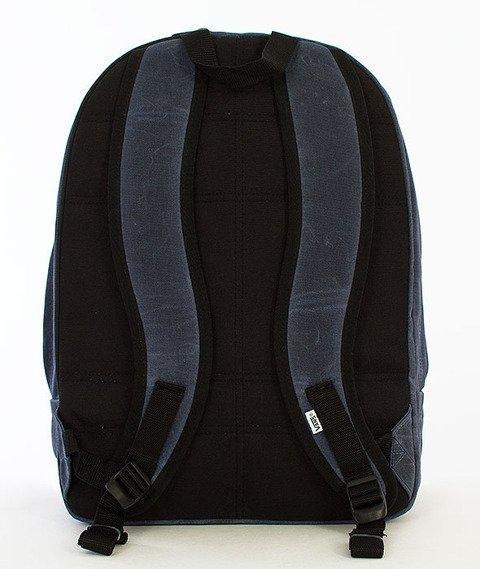 Vans-Old Skool Plus Backpack Dress Blues/Waxed Canvas