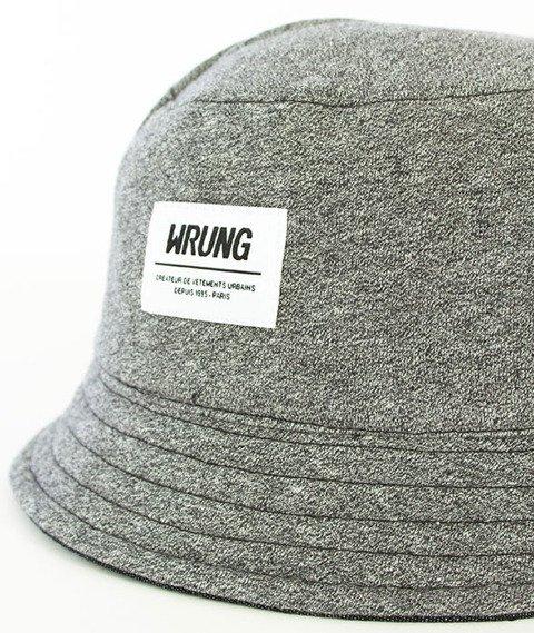 Wrung-Paname Bucket Hat Dwustronny Czarny