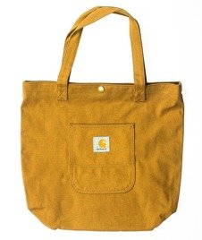 Carhartt-Simple Tote Bag Brown Rigid