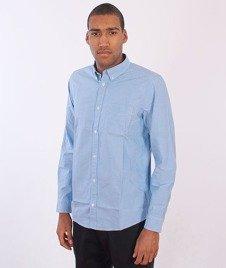 Carhartt WIP-Longsleeve Rogers Shirt Blue