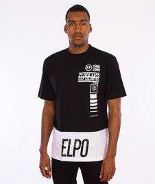 El Polako-Lines T-Shirt Czarno - Biały