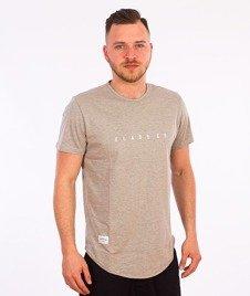 Elade-Minimal Scallop T-Shirt Szary