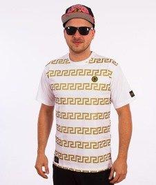 Ganja Mafia-Kalion Greco T-Shirt Biały/Złoty