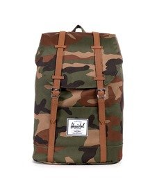 Herschel-Retreat Backpack Woodland Camo [10066-00032]