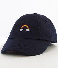 Hype-Rainbow Dad Hat Czapka Z Daszkiem Navy