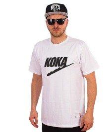 Koka-Fake T-Shirt Biały