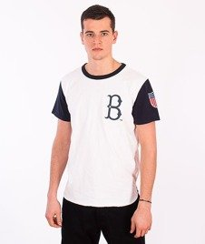 Majestic-Brooklyn Dodgers T-shirt White/Navy