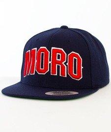 Moro Sport-MORO Czapka Snapback Granatowy