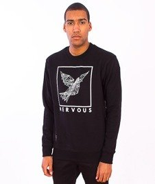 Nervous-Cons Crewneck Black