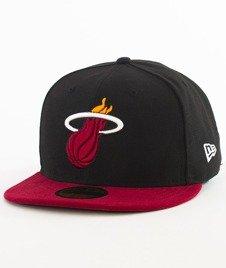 New Era-NBA Basic Miami Heat Cap Black/Red