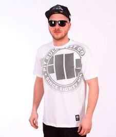 Pit Bull West Coast-Raster Logo T-Shirt White