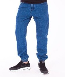 Prosto-Regular Jogger Jeans Blue