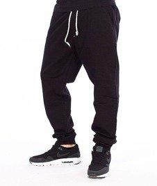 SmokeStory-Jogger Slim Klasyk Spodnie Czarne