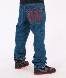 SmokeStory-Pocket Regular Jeans Medium Blue