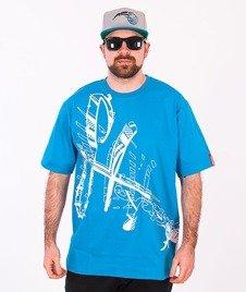 Stoprocent-Seultag T-shirt Niebieski