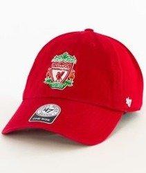 47 Brand-Clean Up FC Liverpool Czapka z Daszkiem Czerwnona