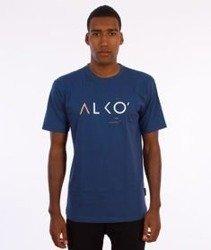 Alkopoligamia-ΔLKO' T-Shirt Granatowy