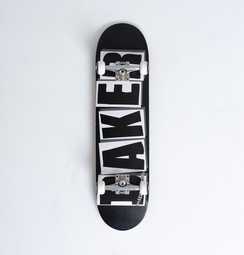 BAKER Deskorolka Kompletna BAKER BRAND LOGO Blk/Wht 8.25