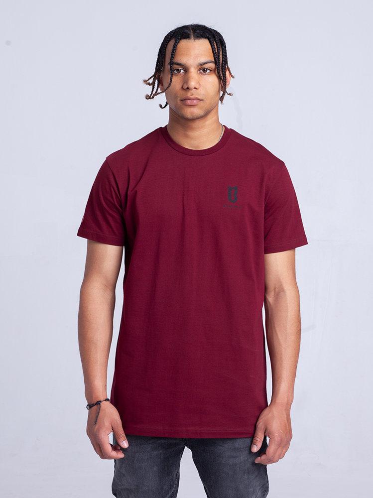 Biuro Ochrony Rapu BASIC T-Shirt Bordowy