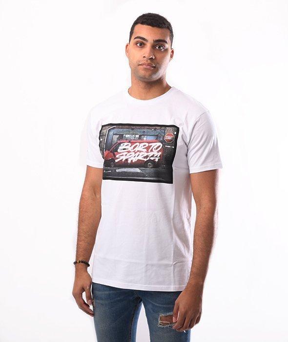 Biuro Ochrony Rapu-BOR To Sparta T-shirt Biały