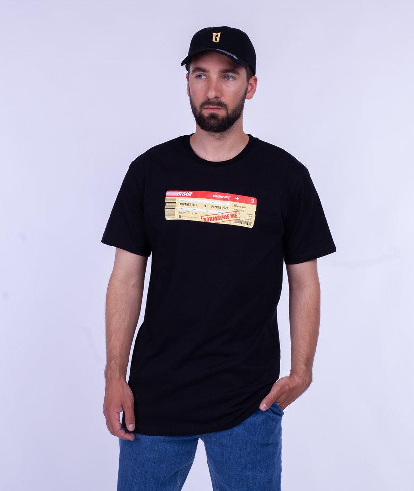 Biuro Ochrony Rapu NORMALNIE T-Shirt Czarny
