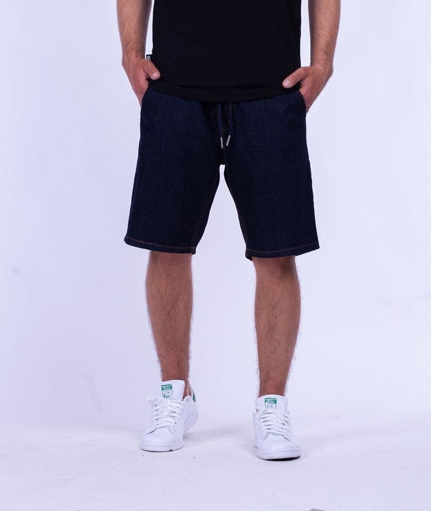 Biuro Ochrony Rapu SKIN Krótkie Spodnie Jeans Dark