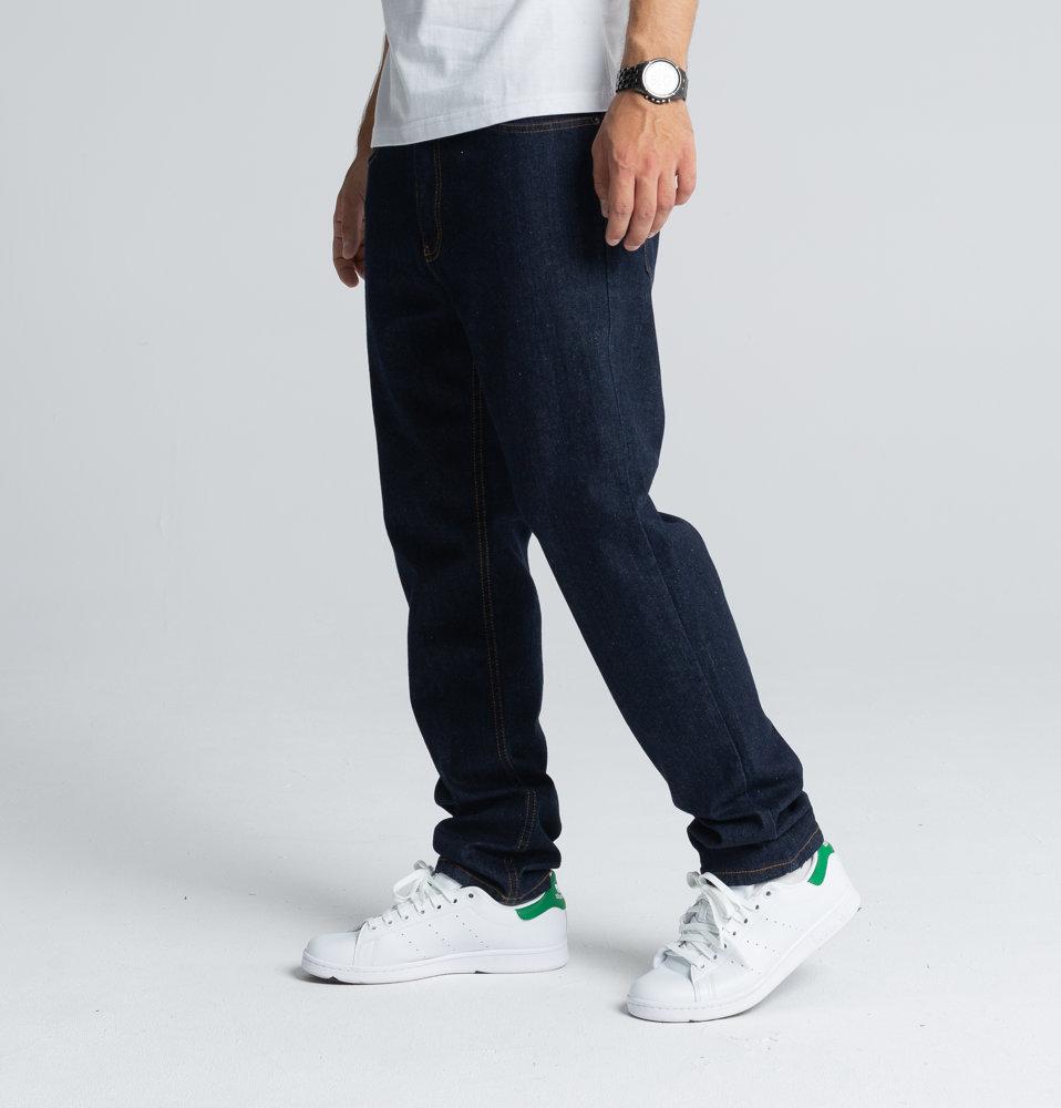 Biuro Ochrony Rapu SKIN Spodnie Jeans Dark