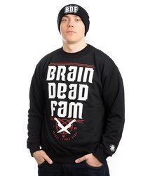 Brain Dead Familia BRAINDEADFAM Bluza Czarny