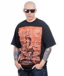 Brain Dead Familia-Pal T-shirt Czarny