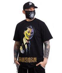 Brain Dead Familia SAMURAI MASK T-Shirt Czarny