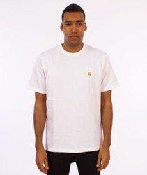 Carhartt-Chase T-Shirt White/Gold