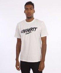 Carhartt-Painted Script T-Shirt White/Black