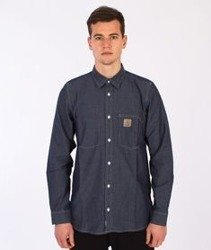 Carhartt- State Shirt Blue Rinsed