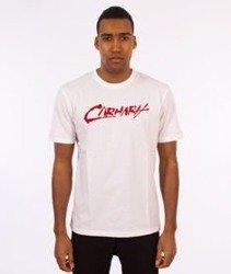 Carhartt WIP-Paint Script T-Shirt White/Chili