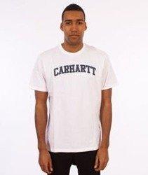 Carhartt WIP-Yale T-Shirt White/Navy