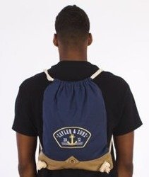 Cayler & Sons-Ahoi Gym Bag Navy/Gold