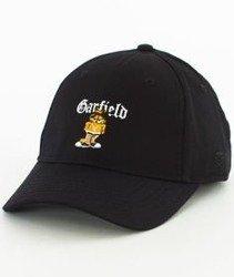 Cayler & Sons-WL Left Side Garfield Curved Strapback Black