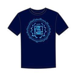 DIIL CAMO LAUR T-Shirt Granatowy