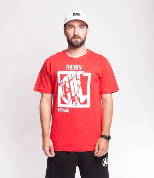 DIIL DESTROY T-Shirt Czerwony