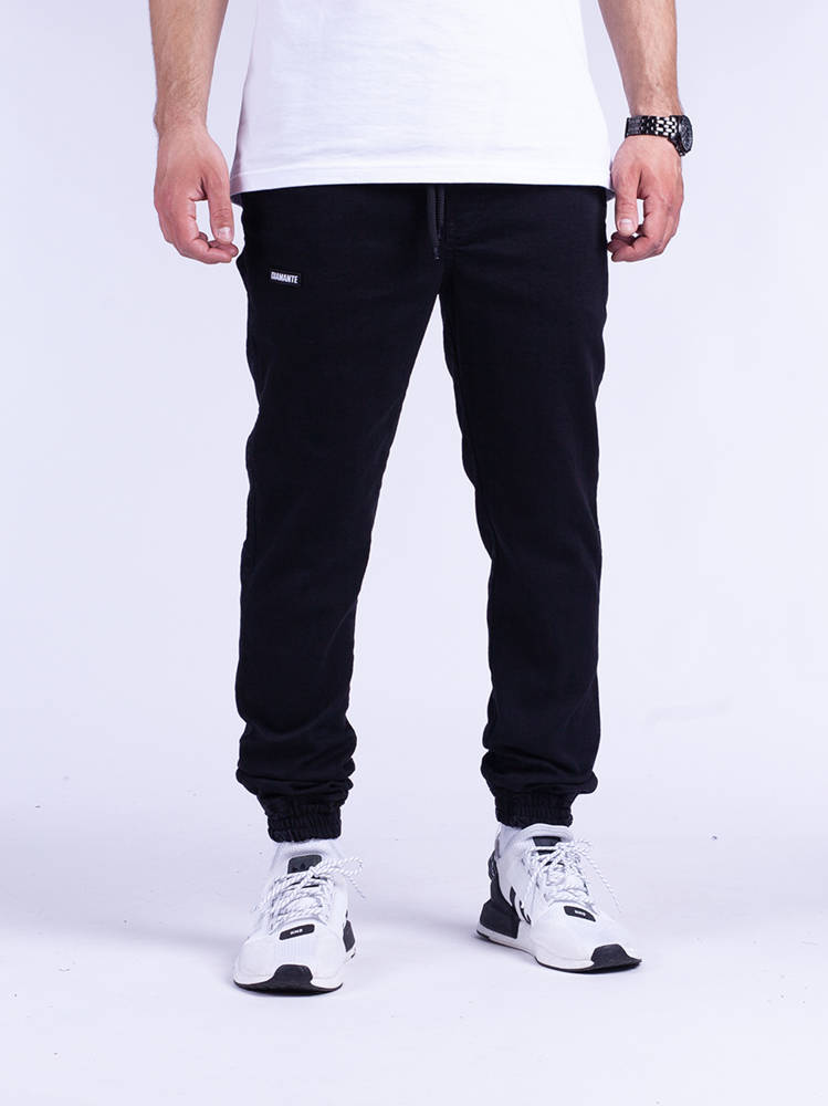 Diamante JOGGER 10 DC Czarny Jeans