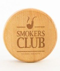 Diamante-Smokers Club Wood Młynek Drewniany