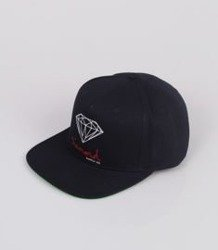 Diamond OG SIGN Snapback Granatowy