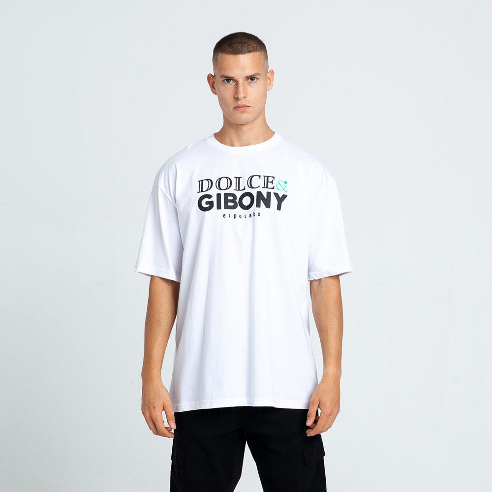 El Polako DOLCE&GIBONY T-Shirt Biały
