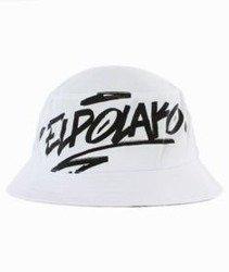 El Polako-Logson Bucket Hat Biały