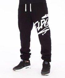 El Polako-Logson Fit Spodnie Dresowe Czarne