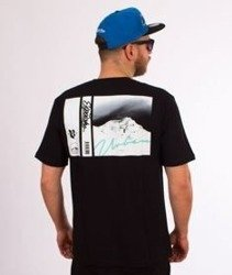 El Polako-Mountain T-Shirt Czarny