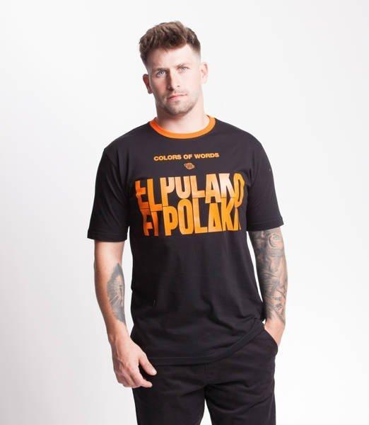 El Polako SLOTMACHINE T-Shirt Czarny