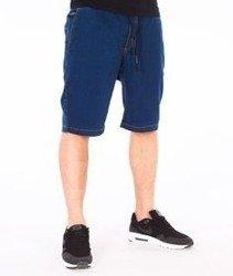 Elade-Elade Co. Spodnie Jeans Krótkie Dark Blue