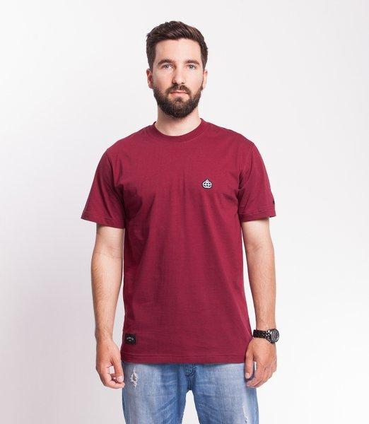 Elade ICON MINI LOGO T-Shirt Bordowy