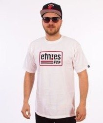 Etnies-Flip Side T-Shirt Biały